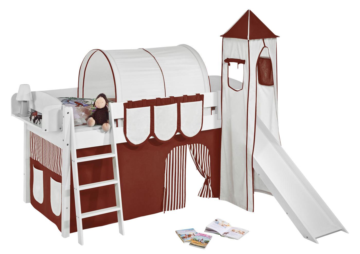 spielbett mit rutsche kinderbetten zubeh r online. Black Bedroom Furniture Sets. Home Design Ideas