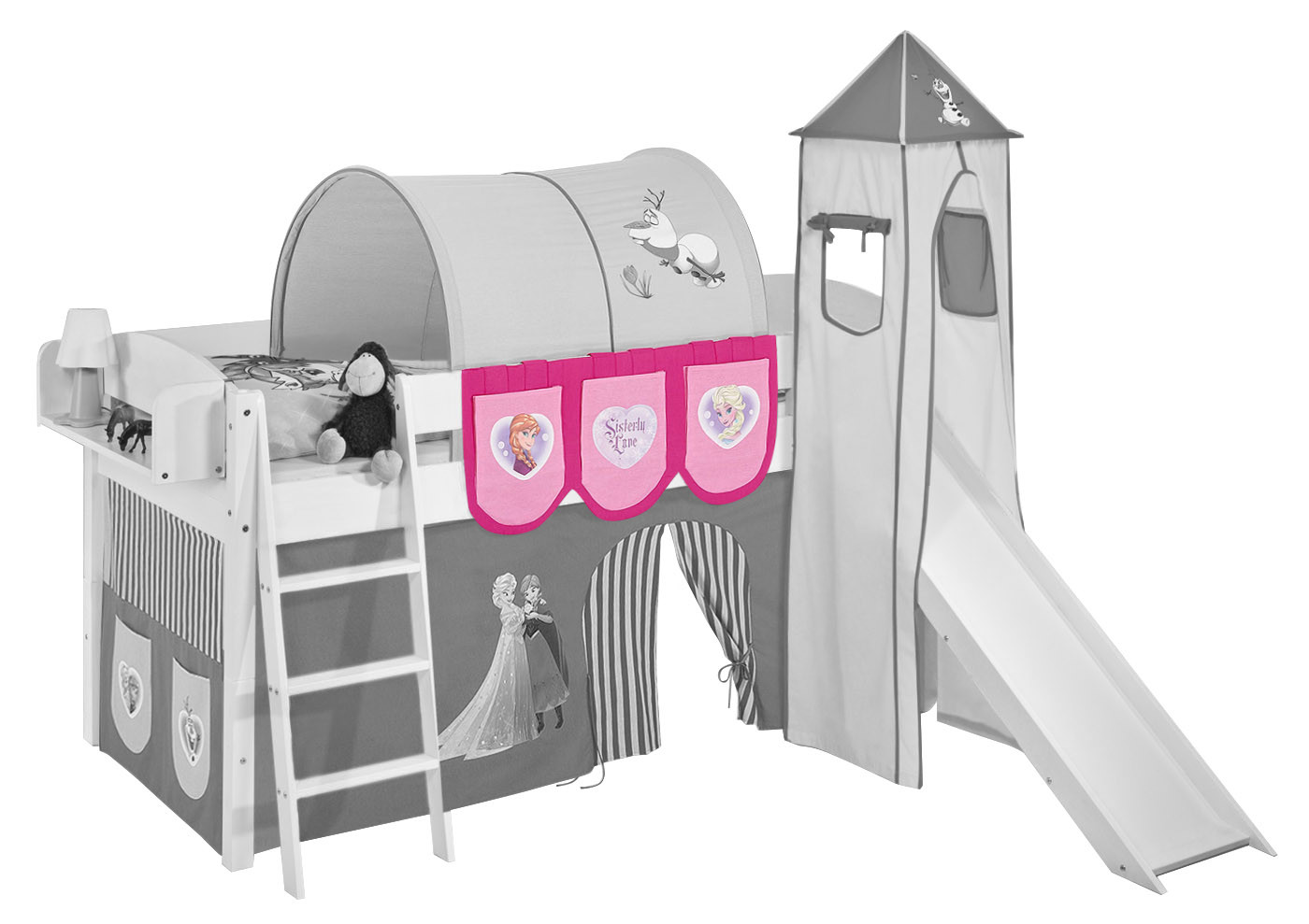 Pockets for Mid Sleeper, High Sleeper and Bunk Bed