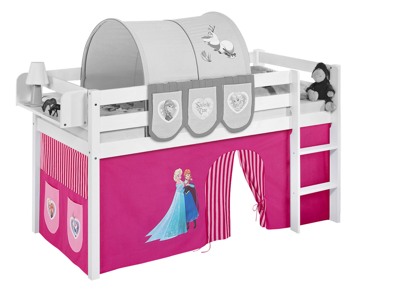 Curtain for midsleeper and bunk bed