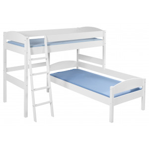 NELE L-Shape Bunk Bed